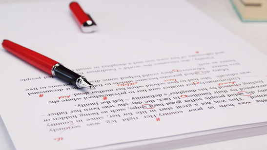 professional copy editing services